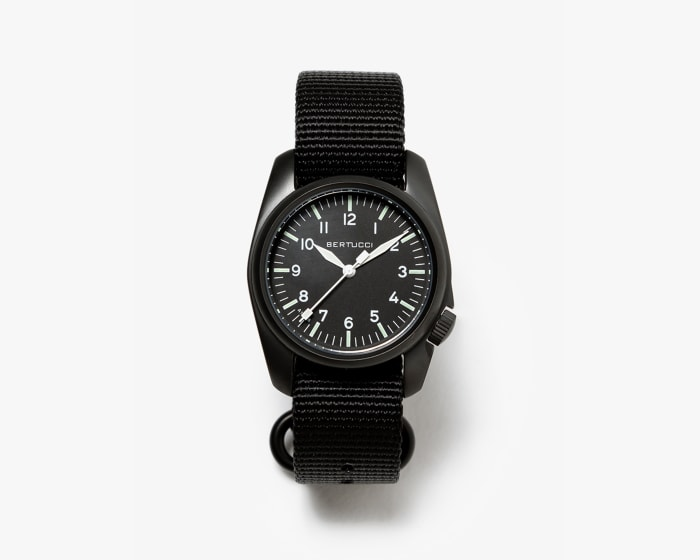 Bertucci Japan's A-1S delivers stealthy field watch styling in an affordable package
