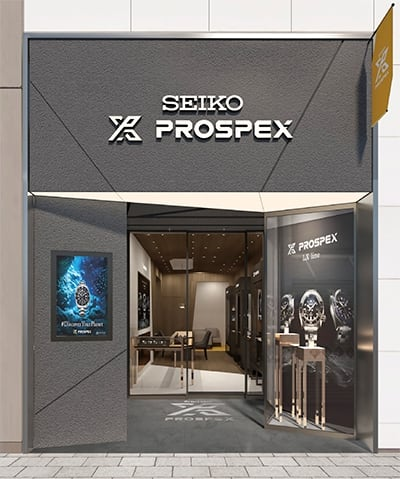 Seiko is opening its first store devoted entirely to the Prospex line