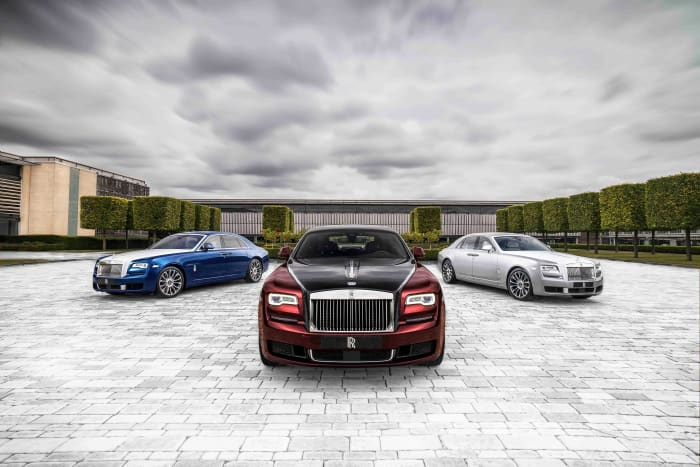 Rolls-Royce closes the book on the current generation Ghost with the new Zenith collection