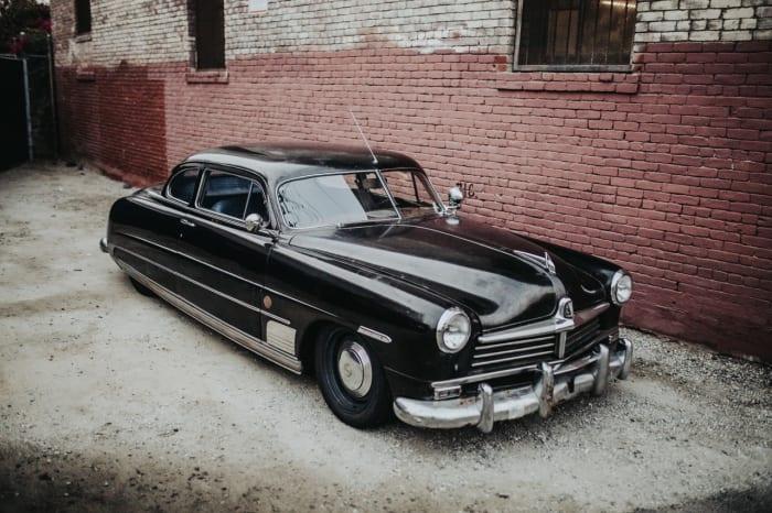 "Icon reveals its latest ""Derelict,"" a 1949 Hudson Coupe"