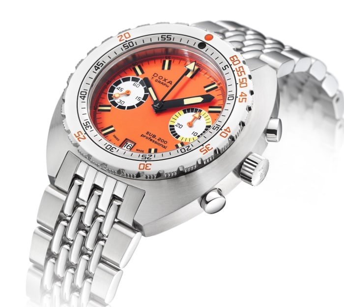 Doxa releases a SUB 200 T.GRAPH in stainless steel