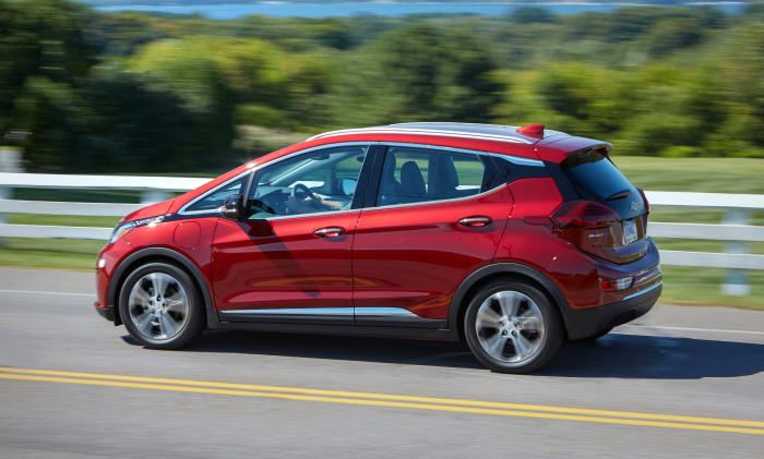 The Chevy Bolt is getting a 21-mile increase in range