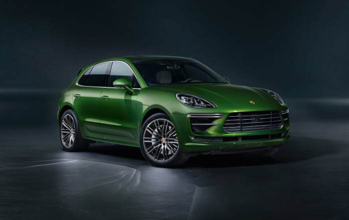 The Porsche Macan Turbo gets a bump in performance for the 2020 model year