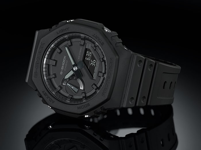 Casio releases one of its thinnest G-Shocks yet, the GA-2100