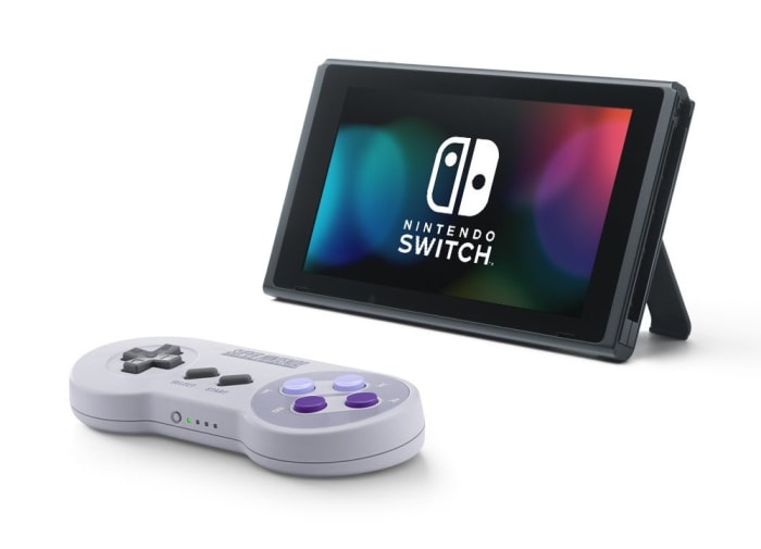 Nintendo brings back the SNES controller for the Switch