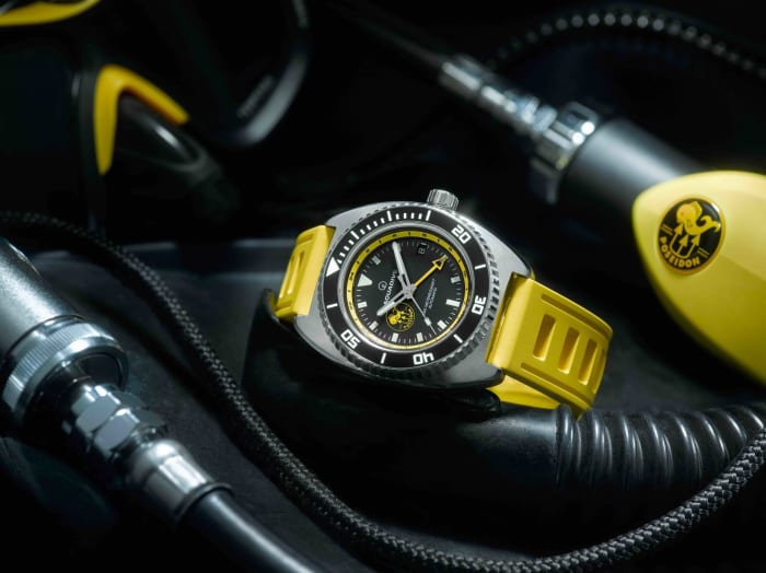 Aquadive and Poseidon launch a new limited edition GMT