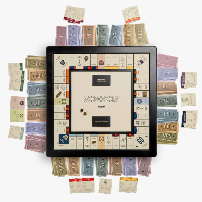 Shinola's special edition Monopoly set pays tribute to its hometown of Detroit