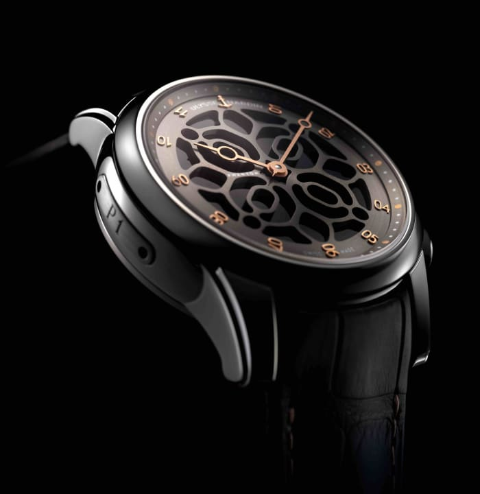 Devialet applied their sound expertise to a limited edition Ulysse Nardin Hourstriker