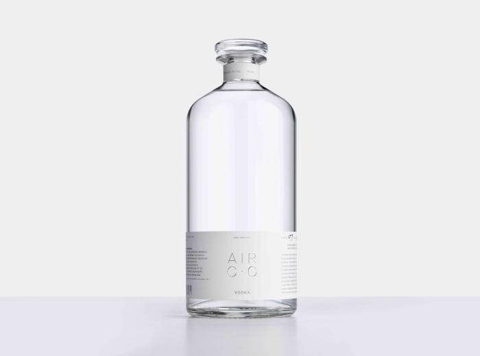 Air Co. is turning carbon dioxide into bottles of high-quality vodka