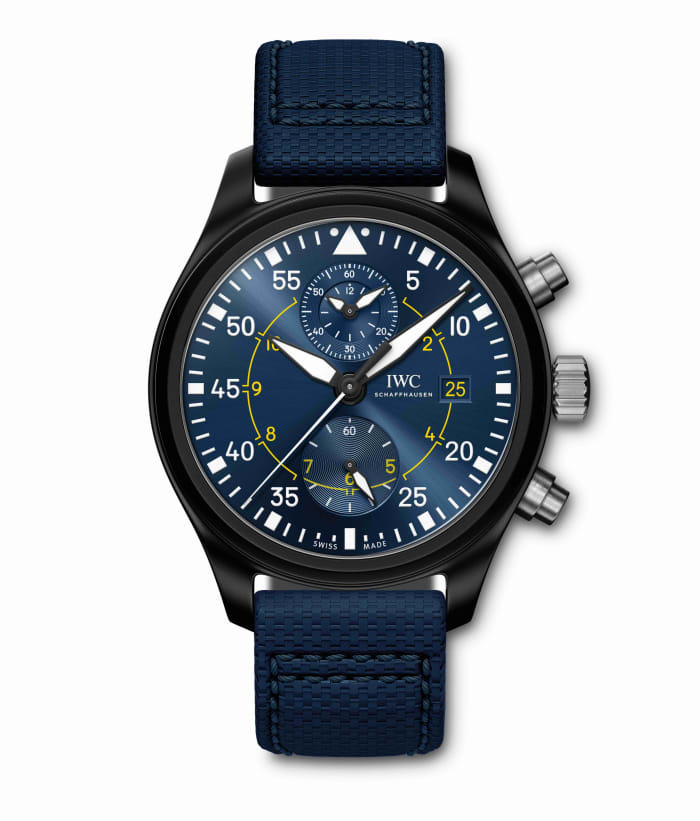 IWC dedicates a new Pilot's Watch to the Blue Angels