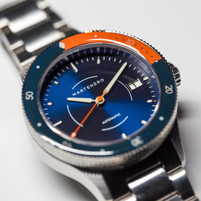 Martenero's first dive watch is one of their best looking models yet