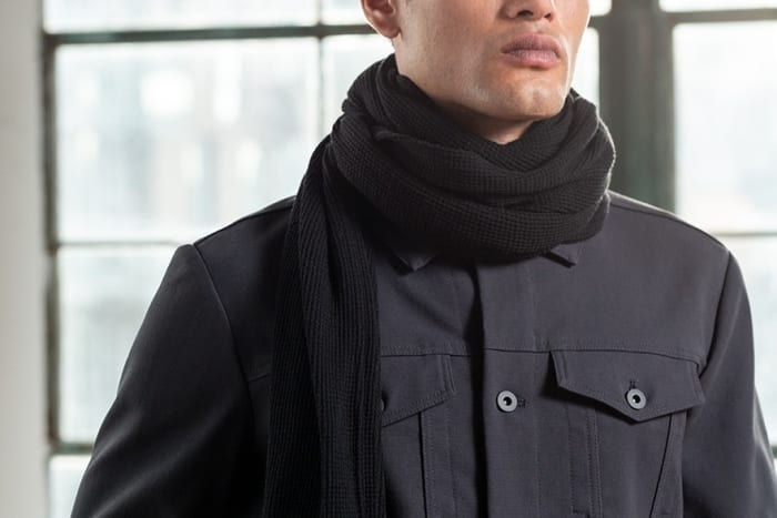 Outlier's new scarf keeps you warm with six feet of merino goodness