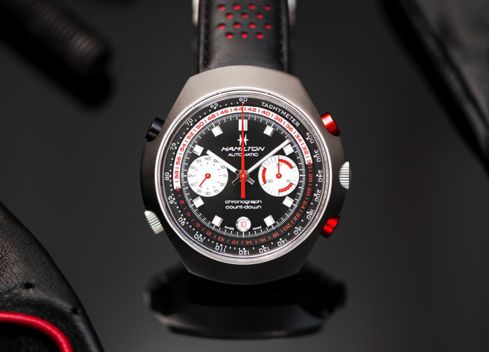 Hamilton's Chrono-Matic 50 celebrates the creation of the first automatic chronograph