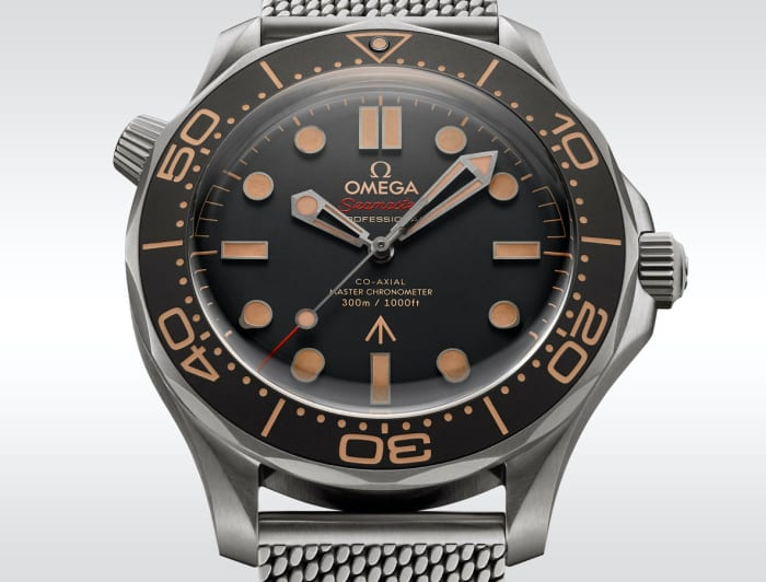 Omega reveals its latest Bond watch, the Diver 300M 007 Edition