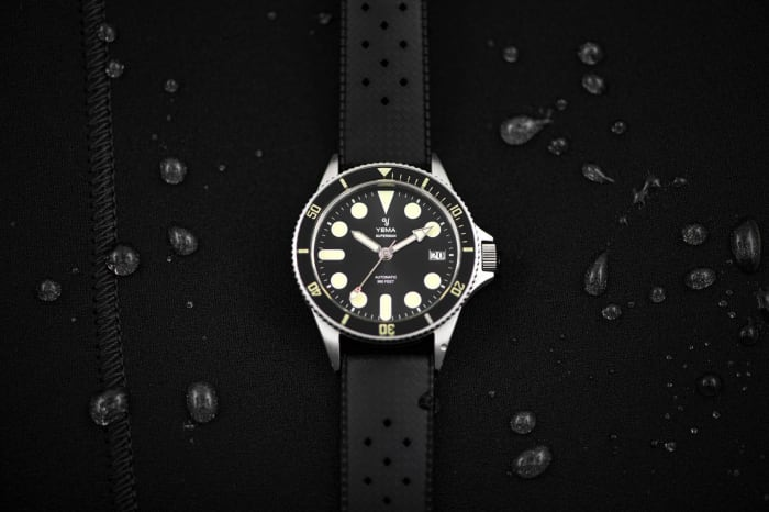 Yema releases a new version of its Superman II dive watch