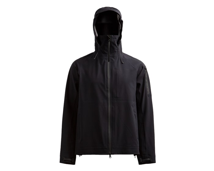 Outlier's 200th experiment takes on the rain with a highly-breathable yet highly water-resistant shell