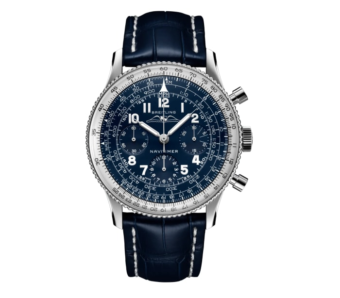 Breitling releases its 1959 Re-Edition Navitimer in platinum and 18k red gold