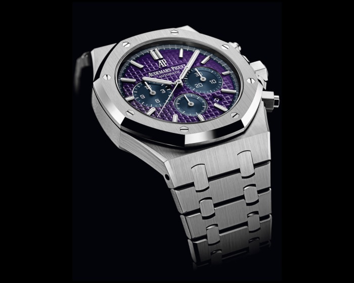 Audemars Piguet creates a purple dial Royal Oak for the One Drop Foundation