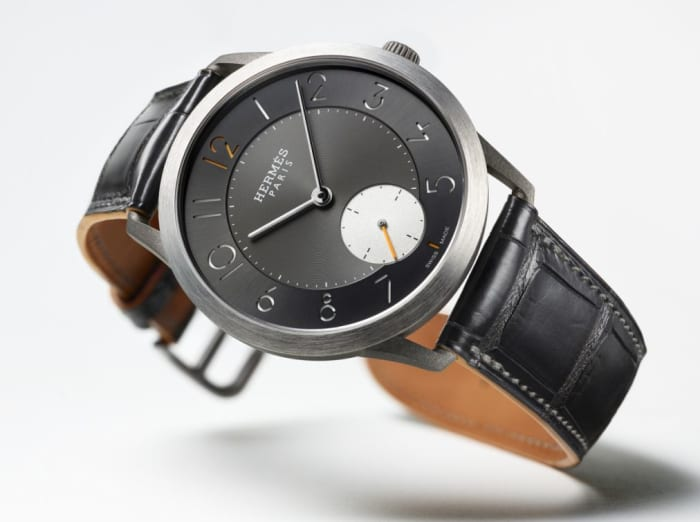 The Slim d'Hermes gets a new titanium option