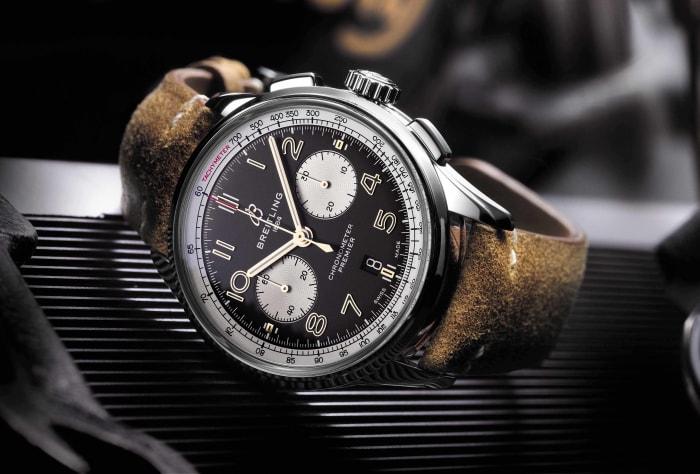 Breitling debuts the Premiere Norton Edition