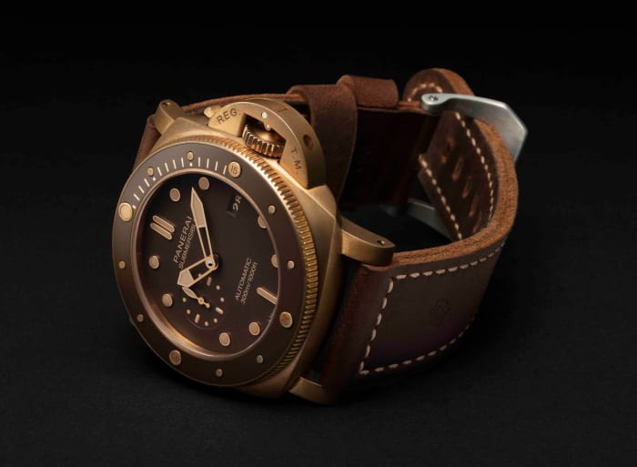 Panerai makes the Bronzo available to the general public