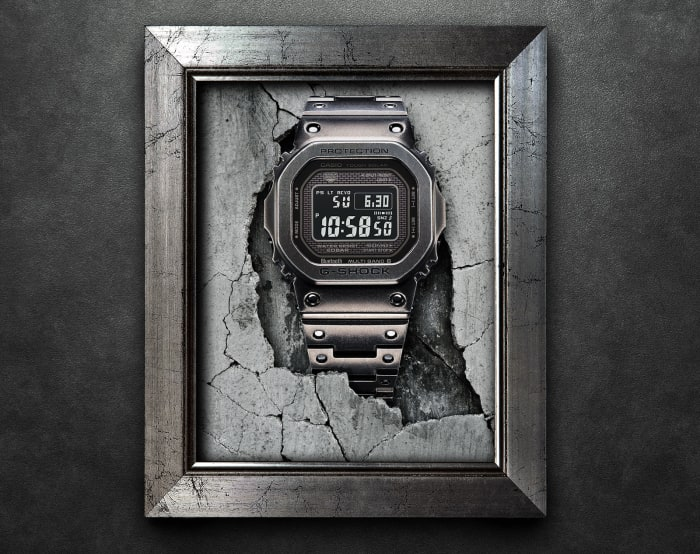 G-Shock adds an Aged IP option to its Full Metal range
