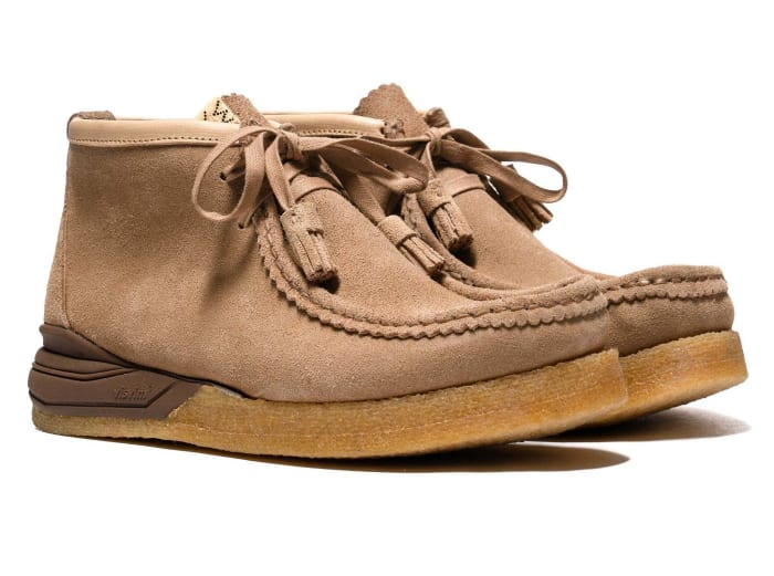 Visvim puts its stamp on the classic Wallabee silhouette