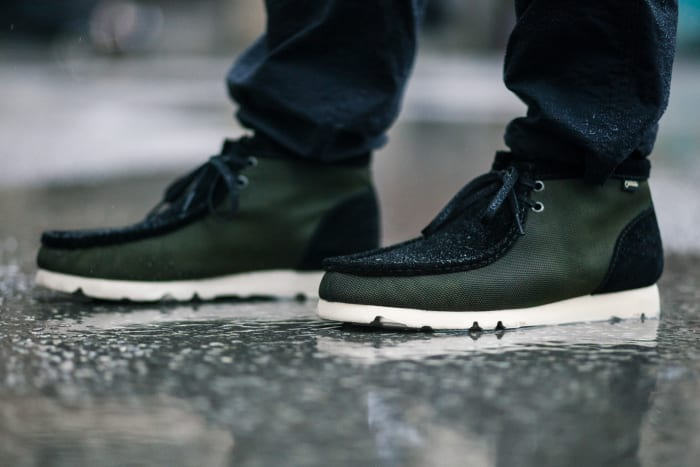 Haven and Clarks release a Gore-Tex Ballistic Wallabee Boot
