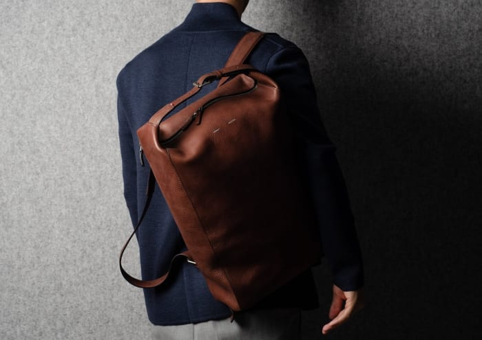 Hardgraft's Belted Backpack meticulously upgrades an everyday essential