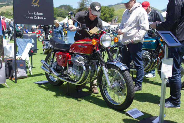 This year's Quail Motorcycle Gathering celebrated the world's first superbike