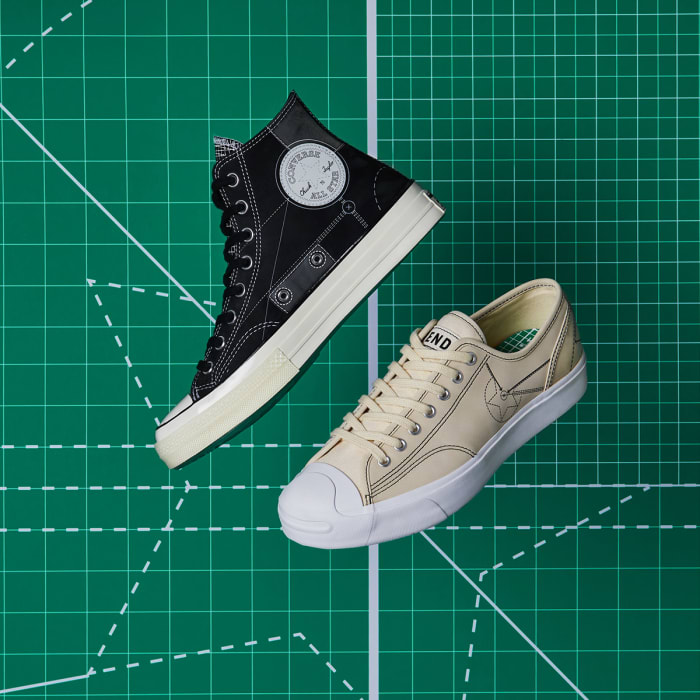END. and Converse start of 2020 with a special edition Chuck 70 and Jack Purcell