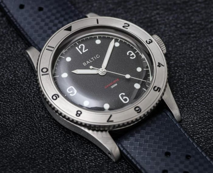 One of Baltic's rarest watches is up for auction to support a very good cause