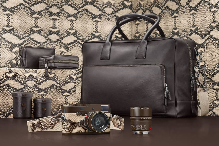 """Leica and Lenny Kravitz team up once again with the M Monochrom """"Drifter"""""""