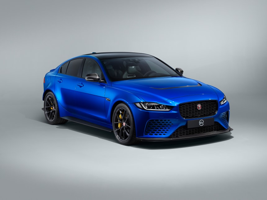 Jaguar reveals a touring version of the XE SV Project 8