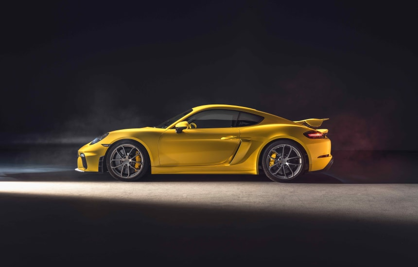 Porsche reveals the 2020 718 Cayman GT4 and 718 Spyder