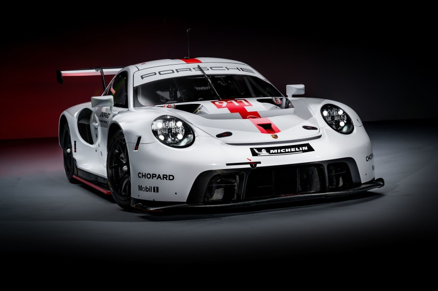 Porsche is set to defend their WEC title with the 2019 911 RSR