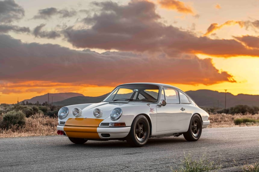 Emory Motorsports latest one-off is a 911 inspired by the 1968 908