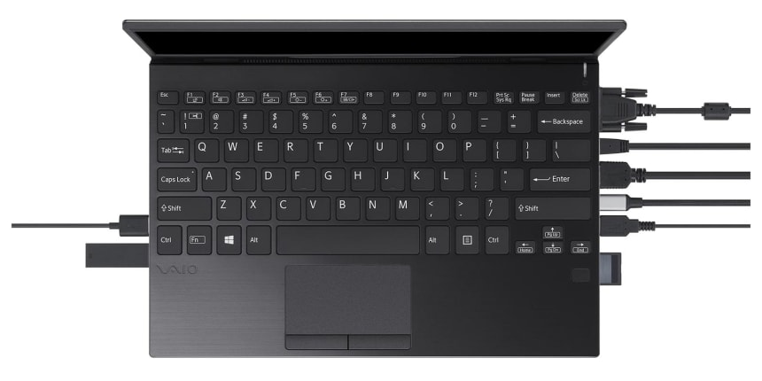 The VAIO SX12 is the ideal ultraportable for those who can't give up their ports