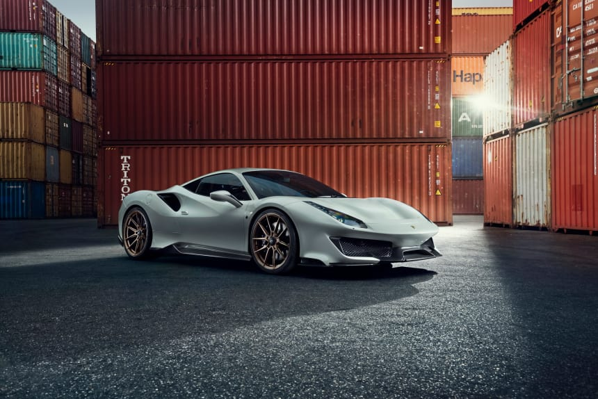Novitec launches a new Sports Package for the 488 Pista