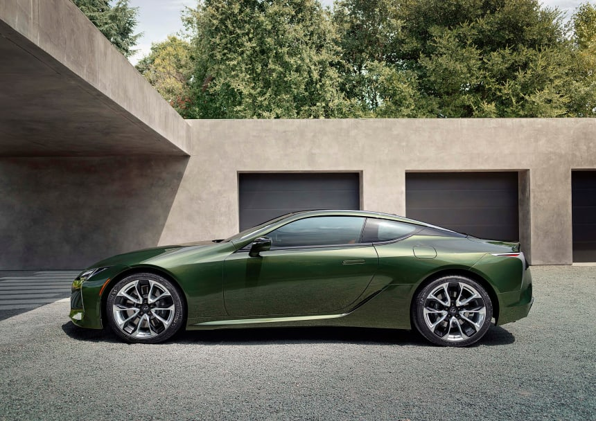 Lexus adds a Nori Green Pearl LC 500 to its limited edition Inspiration Series