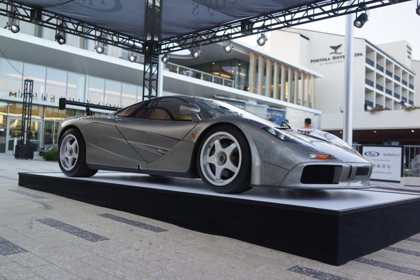 RM Sotheby's Monterey Auction brings an army of Astons, a historic Porsche, and a $23 million dollar McLaren F1