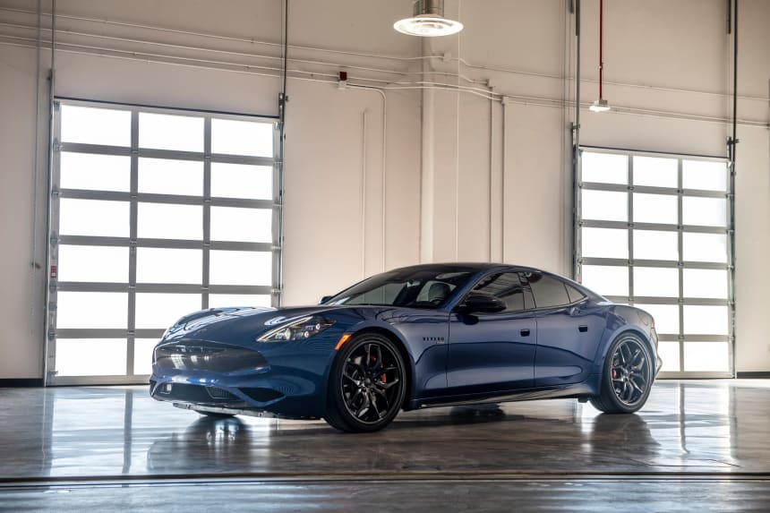 Karma reveals a new performance variant of the Revero GT