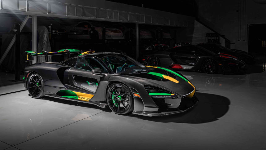 McLaren Beverly Hills is paying tribute to Ayrton Senna with three exclusive Senna XPs
