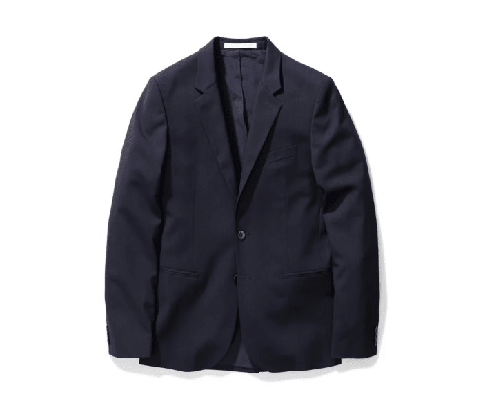 Norse Projects mixes classic tailoring and technical fabrics in their new blazer