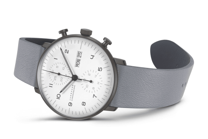 Junghans adds a new case finish to the Max Bill line