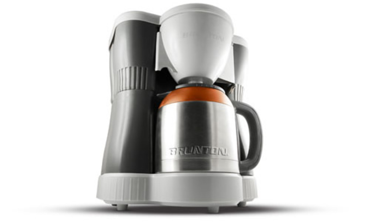 Coffee Maker On Gas : Brunton BrewFire Dual-Fuel Coffee Maker - Acquire