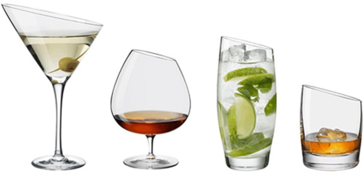 Eva Trio Cocktail Glasses - Acquire