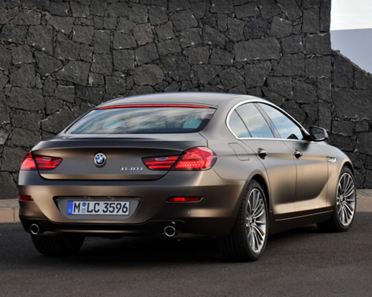 bmw 6 series gran coupe acquire. Black Bedroom Furniture Sets. Home Design Ideas