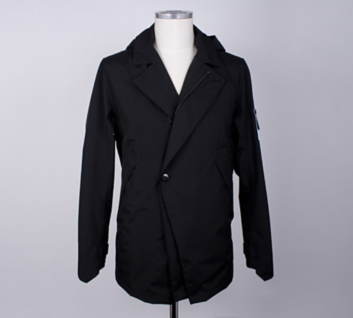 stone island shadow stealth trench coat acquire. Black Bedroom Furniture Sets. Home Design Ideas