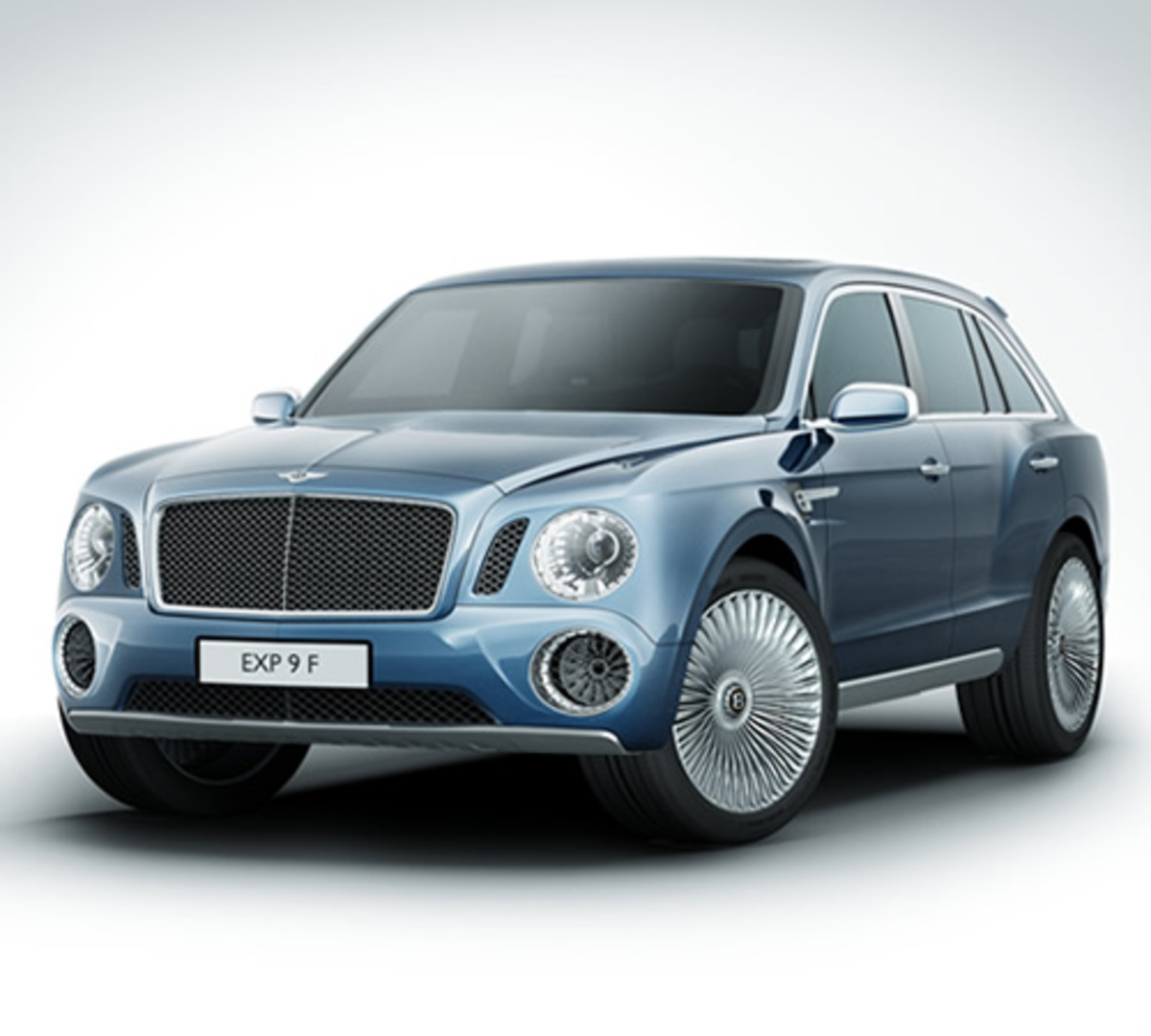 Bentley 2014: Bentley EXP 9 F Concept SUV